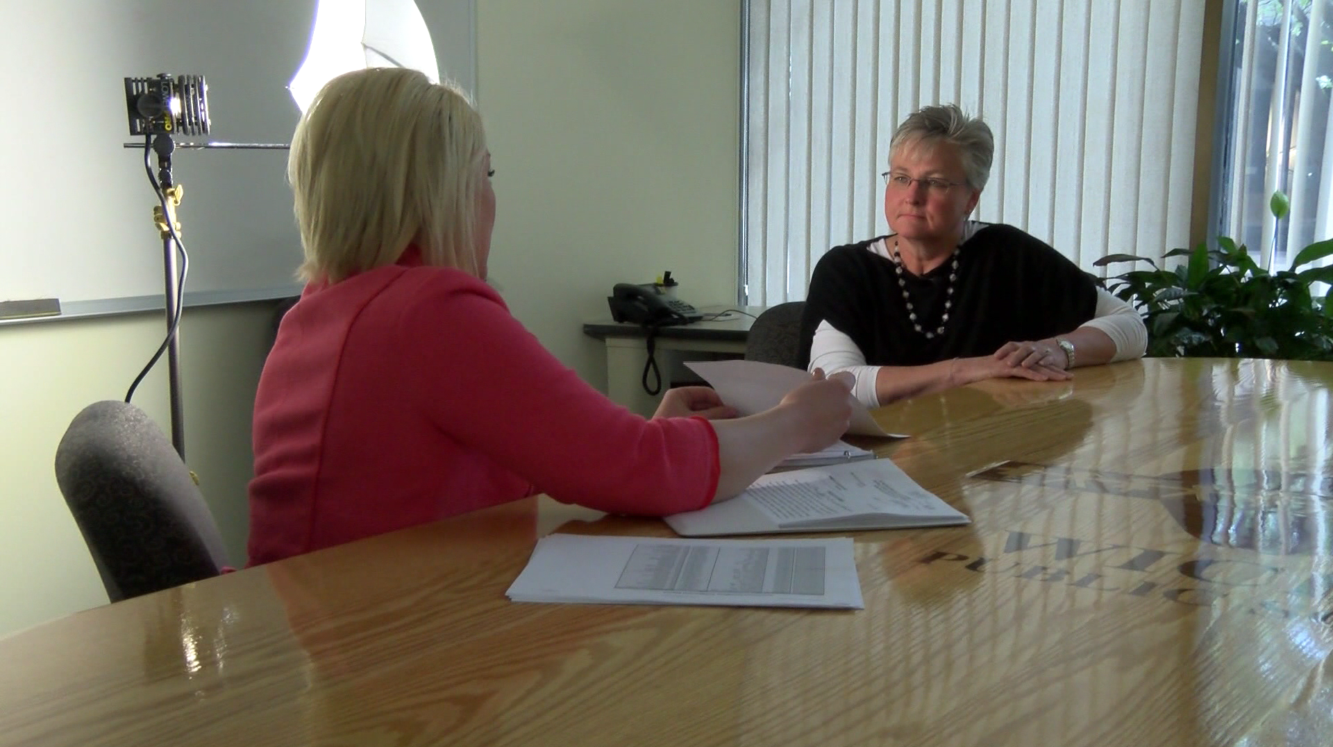 KSN's Brittany Glas sat down with Terri Moses, USD 259 Safety Services Department in April 2014, to discuss how the district goes above the state's minimal background check requirements.