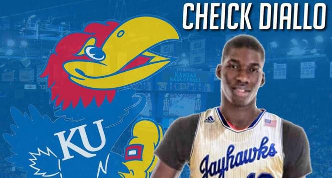Five-star recruit Cheick Diallo commits to Kansas