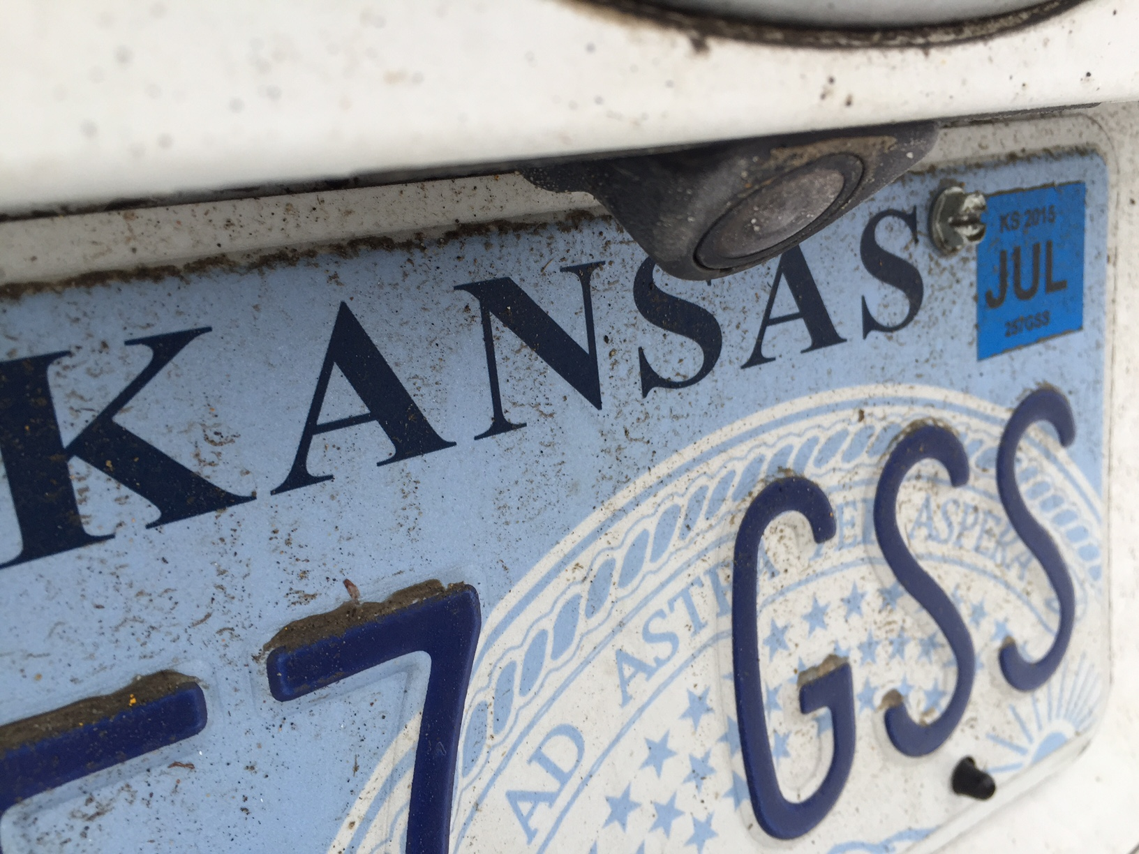 Kansas License Plate_187272