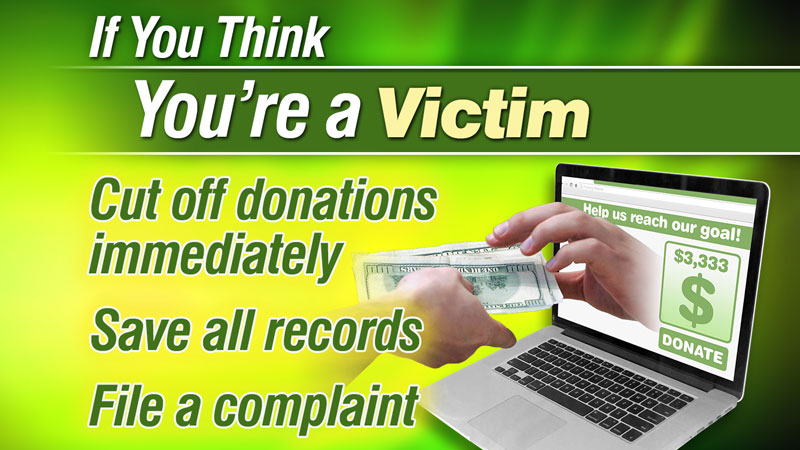 May 2016 sweeps, Mark Davidson, GoFundMe, Are You Being Taken When You Give?