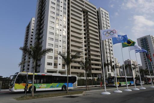 Brazil Rio Olympics Village_297727