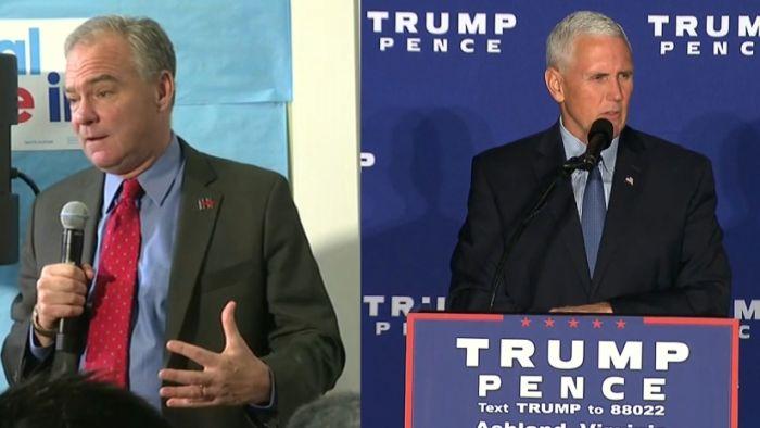 Governor Tim Kaine and Governor Mike Pence_311581