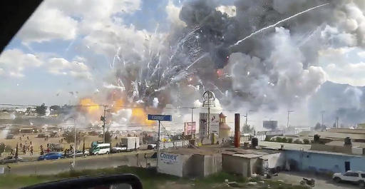 Mexico Fire Explosion_327891