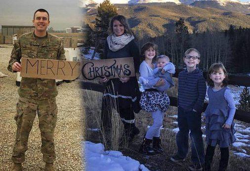 Military Family Christmas Photo_326706