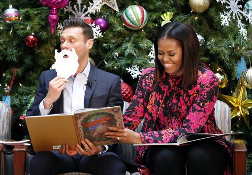 Michelle Obama, Ryan Seacrest_326209