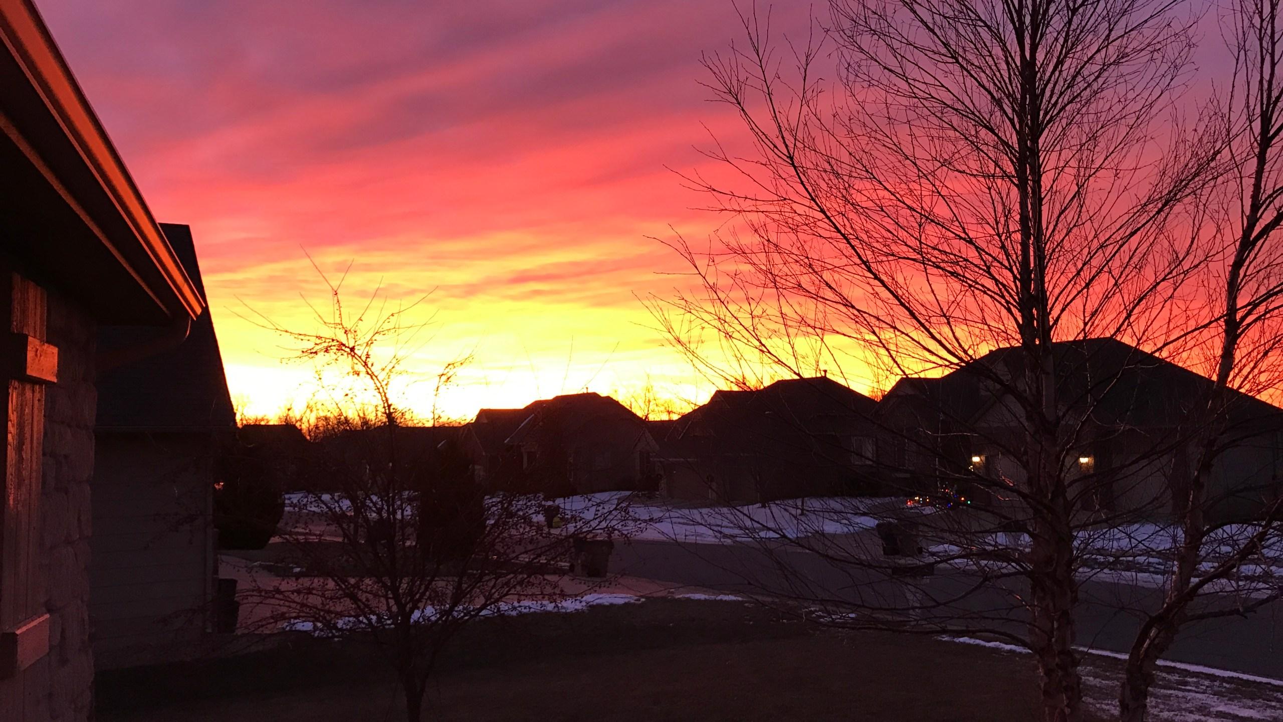 beautiful winter solstice morning_327929