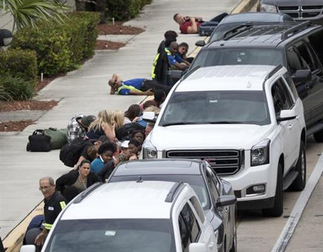 Fort Lauderdale airport shooting_330882