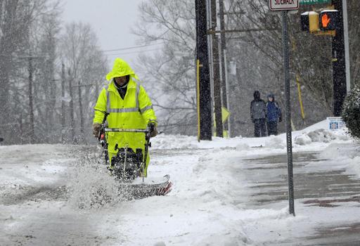 APTOPIX Winter Weather North Carolina_331069