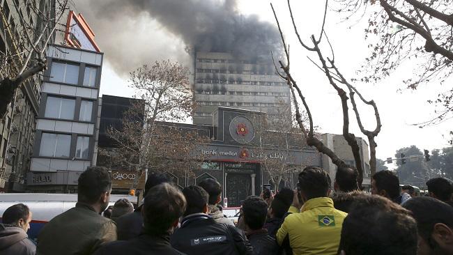 APTOPIX Iran Fire_333326