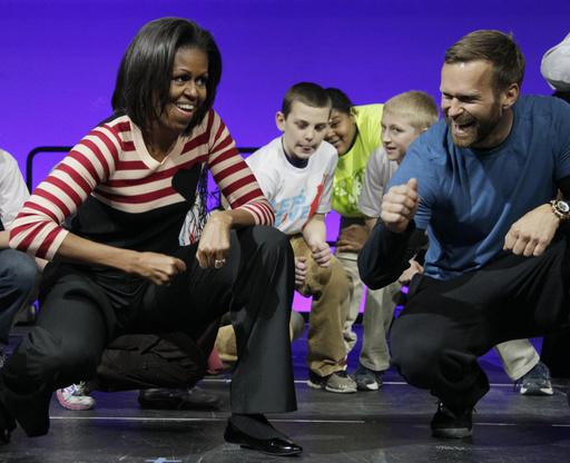 Michelle Obama, Bob Harper_352428