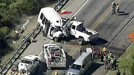 Church Van Crash Texas_366123