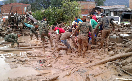 Colombia Deadly River Overflow_367384