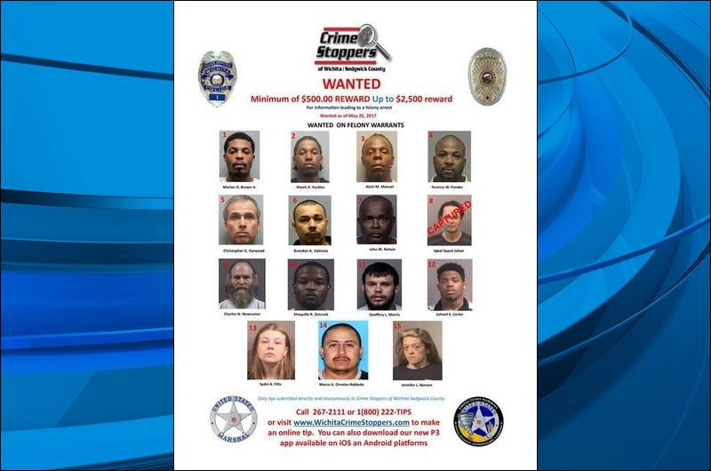 Crime Stoppers: Offenders sought in warrant project