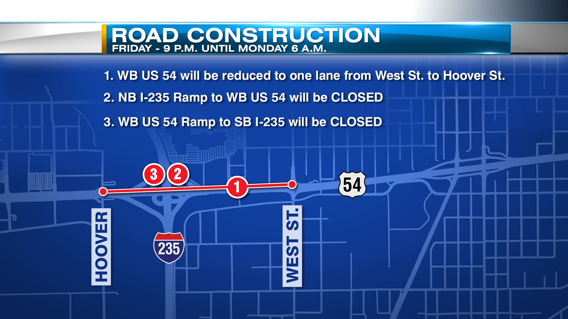 FS Road Construction Closures I-235 Kellogg_395532