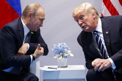 Donald Trump, Vladimir Putin_418154