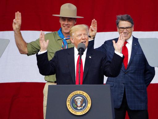 Donald Trump, Rick Perry, Ryan Zinke_422735