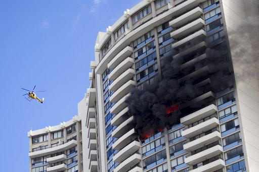 APTOPIX Honolulu Apartment Fire_416531