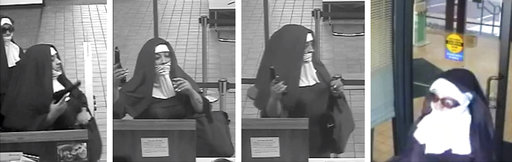 Robbers Dressed As Nuns_438590