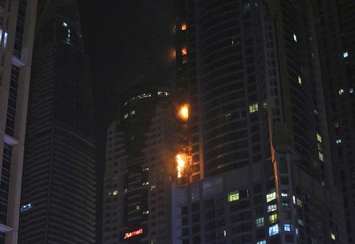 Dubai Tower Fire_426492
