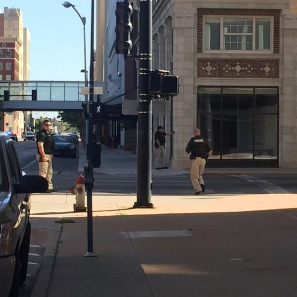 WPD on scene of a standoff in downtown Wichita_442604