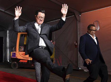 Stephen Colbert, Hayma Washington_447477