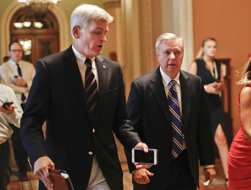 Bill Cassidy, Lindsey Graham_448070