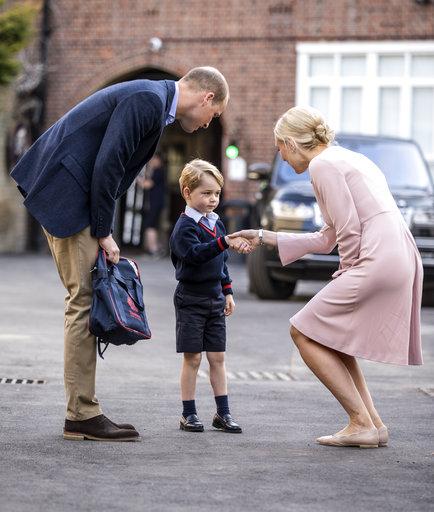 Britain Prince George_442824
