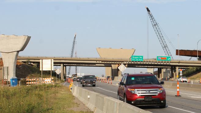 Kellogg and I-235 Construction_450232