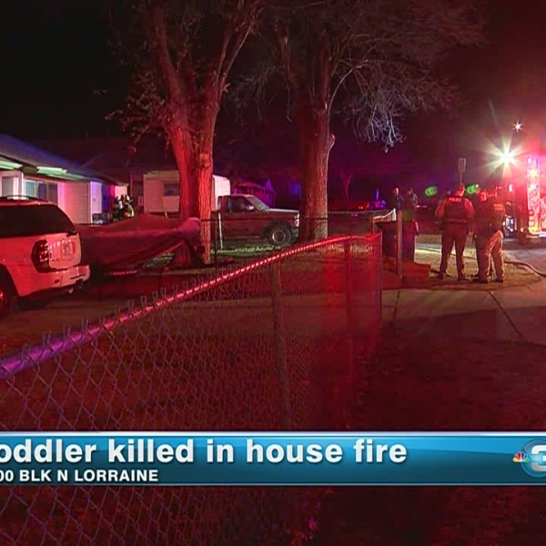 Toddler killed in house fire