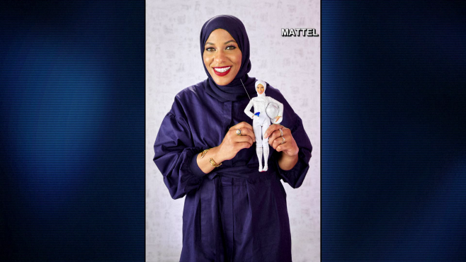 Barbie makes doll of hijab-wearing Olympian_477748