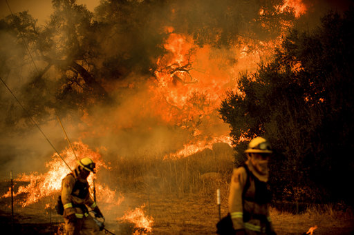California Wildfires_489538