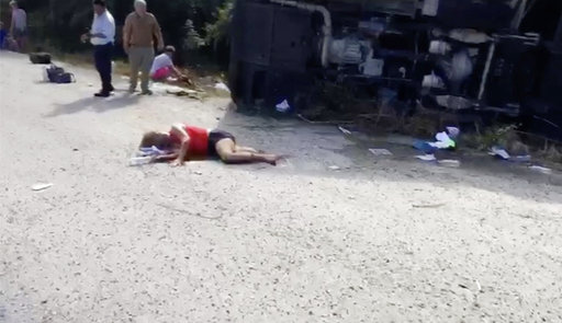 Mexico Bus Accident_493446