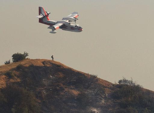 California Wildfires_493123