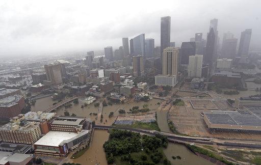 Downtown Houston Aerial_501039
