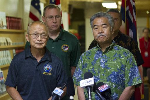Hawaii-Mistaken Missile Alert_503996