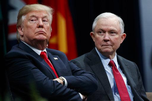 Donald Trump, Jeff Sessions_499614