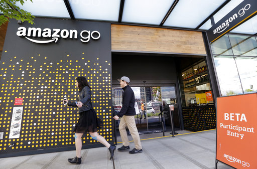 Amazon Cashier less Store_507813