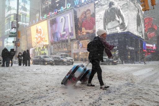 APTOPIX Winter Weather New York City_499503