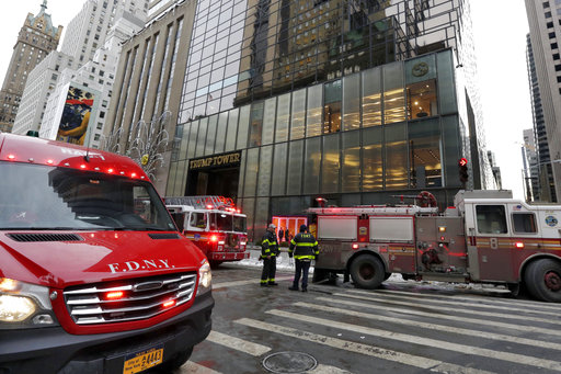 Trump Tower Fire_500953