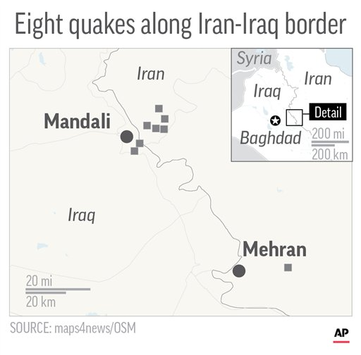 IRAN IRAQ QUAKE_502603