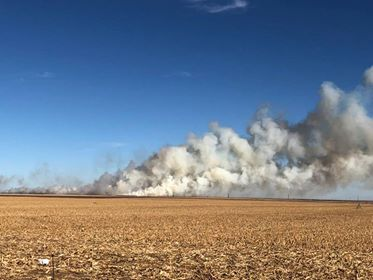 cotton bale fire_500743