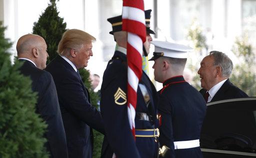 Donald Trump, Nursultan Nazarbayev_504942