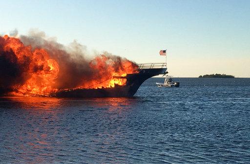 Casino Shuttle Boat Fire_504226