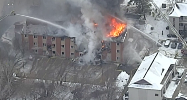 Lawrence Hotel Fire_509323