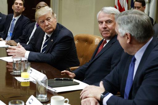Donald Trump, Robert Bradway, Robert Hugin, Stephen Ubl, Kenneth Frazier_519879