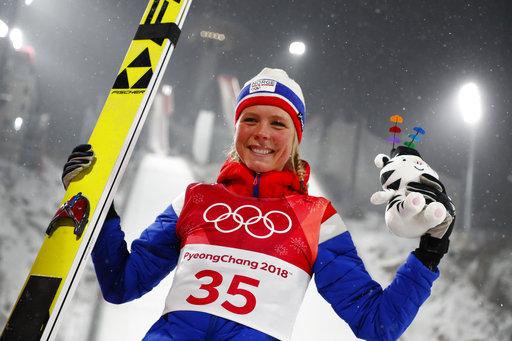 Pyeongchang Olympics Ski Jumping Women_519472
