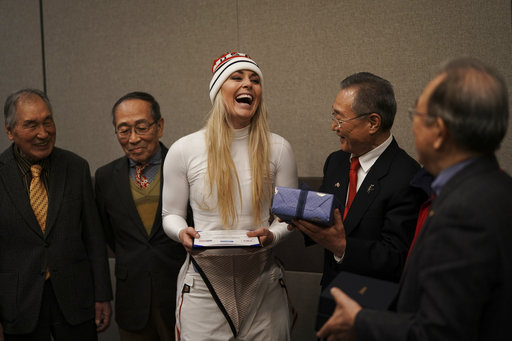 Pyeongchang Olympics Vonns Grandfather_525765