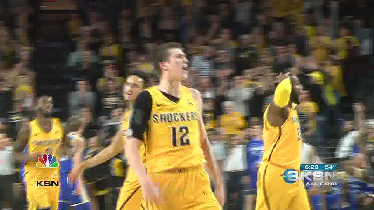 Austin Reaves stepping up for Wichita State