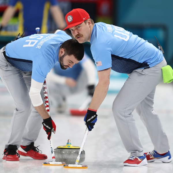 Curling – Winter Olympics Day 15_526895