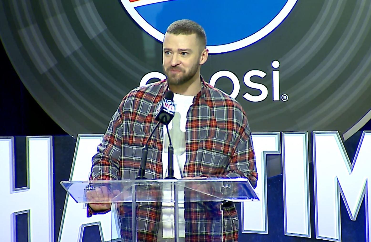 Justin Timberlake Generic Super Bowl LII_514183